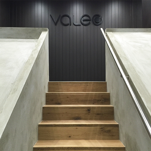 ZUNICA - Valeo Construction - Entrance